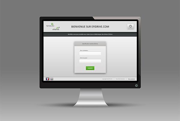 SITE WEB EFIDRIVE